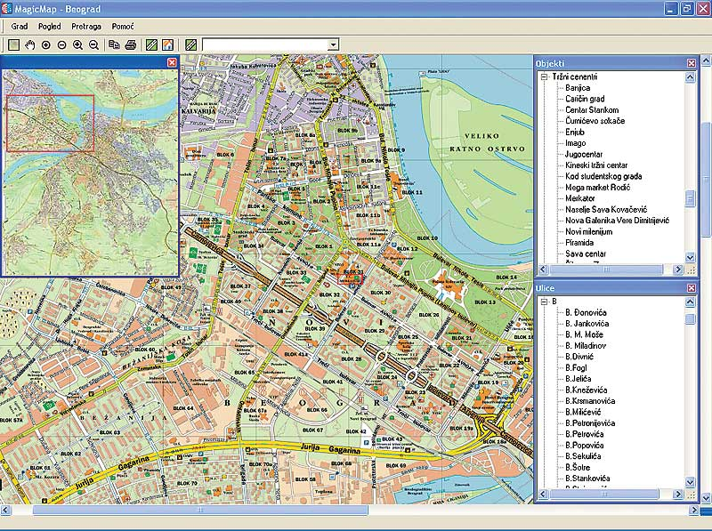 Redesse Turisticka Mapa Srbije