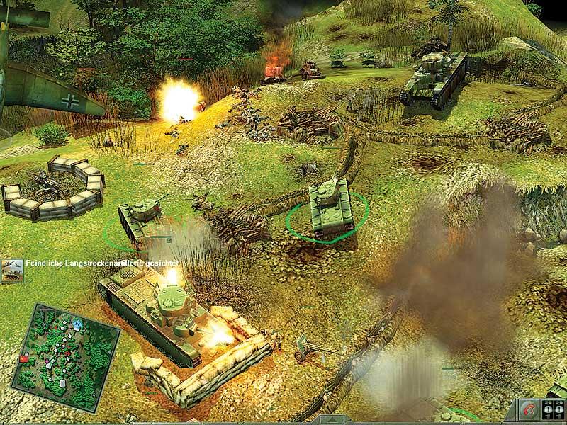 Вы можете без регистрации скачать все патчи для игры Blitzkrieg 2 (Блиц