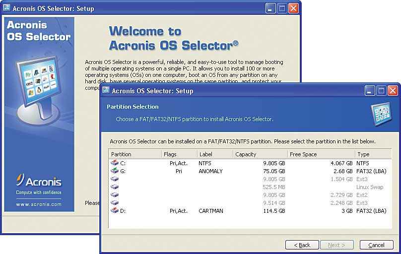 Acronis Os Selector Deluxe - Free downloads and reviews ...