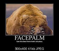 Kliknite na sliku za veću verziju  Ime:facepalm bear.jpg Viđeno:19 puta Veličina:40,8 KB ID:33239