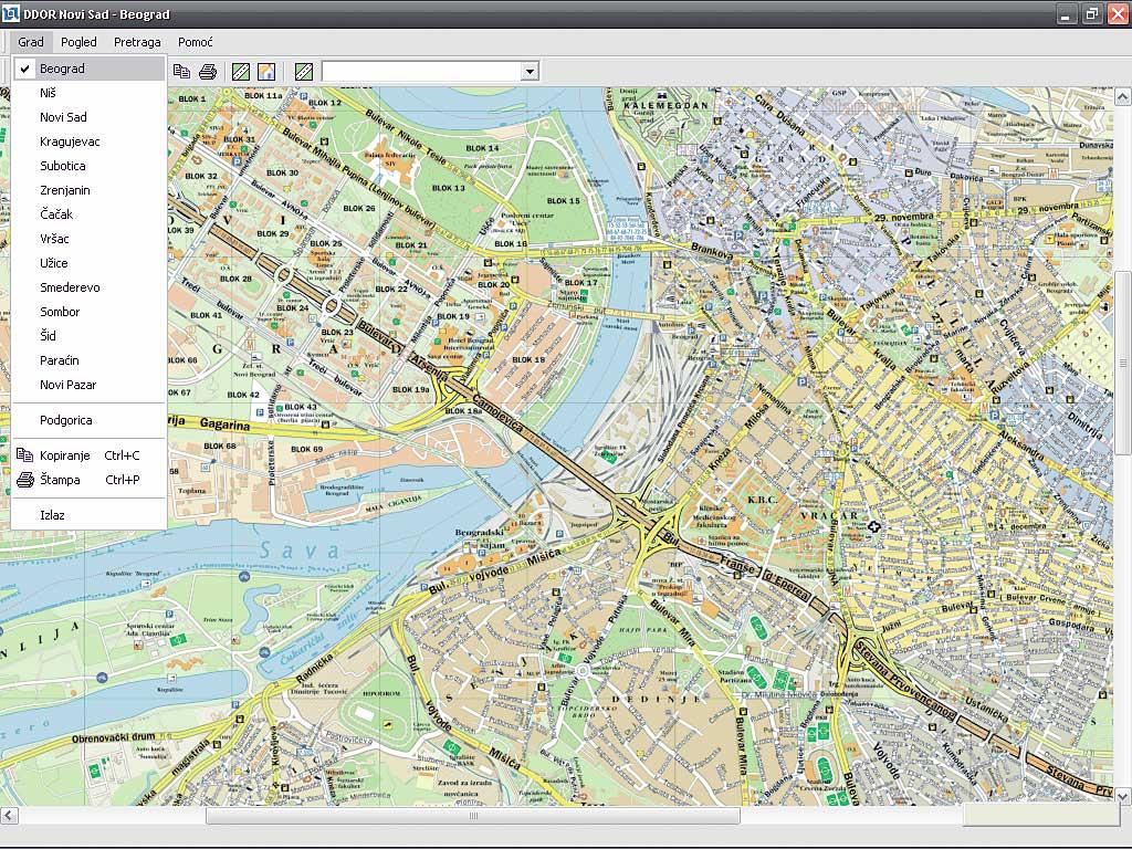 Svet Kompjutera Cedeteka Interaktivna Auto Karta Ddormap