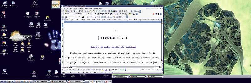 SVET KOMPJUTERA - TEST RUN - UltraMon 2 7 1