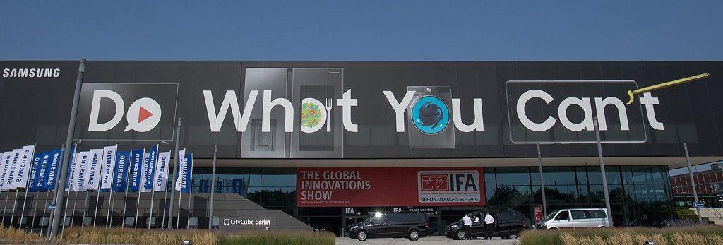IFA 2018 - Samsung