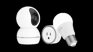Lenovo Smart Camera, Smart Plug i Smart Bulb